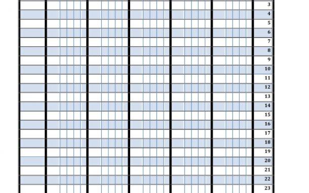 چک لیست گروهی ترم اول فارسی — اول ابتدایی