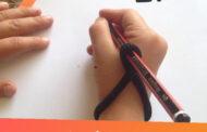 آموزش گرفتن قلم مداد خودکار در دست